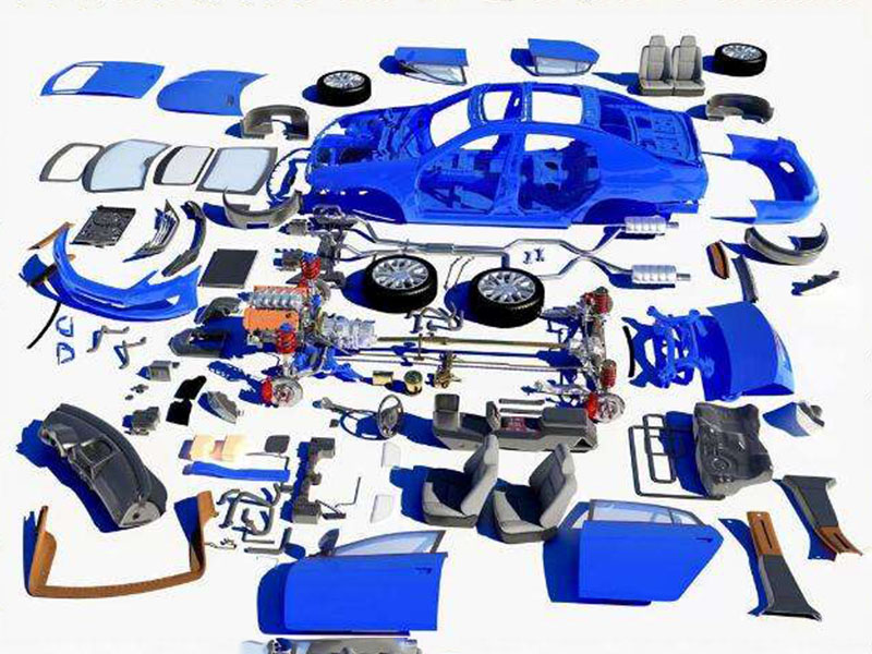 Which ones do auto parts mainly refer to?